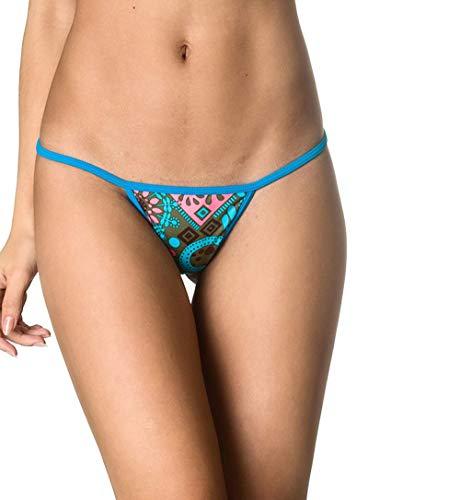 a11d0463fd THE MESH KING Coqueta Swimwear Sexy Brazilian Teeny Micro Thong Mini Bikini  Swimsuit G String