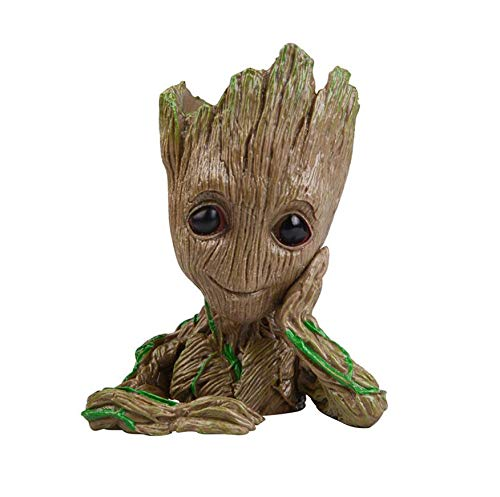 Best Quality - Action & Toy Figures - 16cm Tree Man Baby Action Figure Tree Man Doll Phoneholder Grunt Guardians of The Galaxy 2 Model Pen Pot and Flower Pot Toy - by ORSTAR - 1 PCs