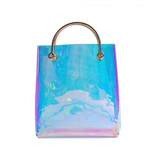 Clear Pvc Shopper Bag - 1