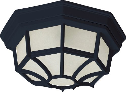 Maxim Lighting 57920 Outdoor LED Flush Mount, Black Finish, 11.5 by 4.5-Inch by Maxim Lighting