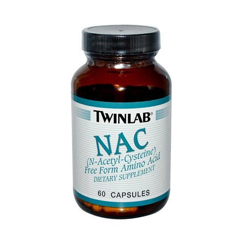 NAC N-Acetyl Cysteine -- 600 mg - 60 Capsules Pack of 5
