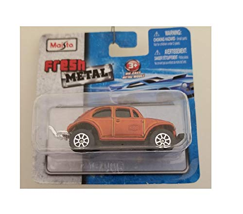 Maisto Fresh Metal Die-Cast Vehicles ~ VW Volkswagen Baja Bug Off-Road Car (Burnt Orange) (Bug Baja Volkswagen)