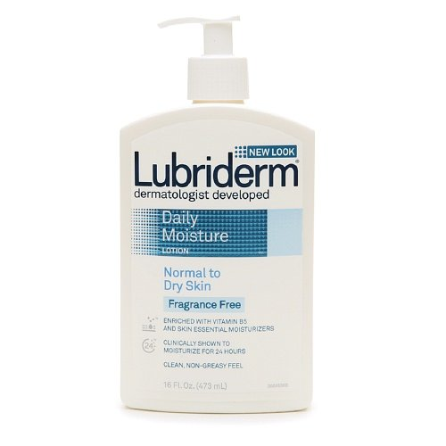 Lubriderm Daily Moisture Fragrance Free Lotion, For Normal t