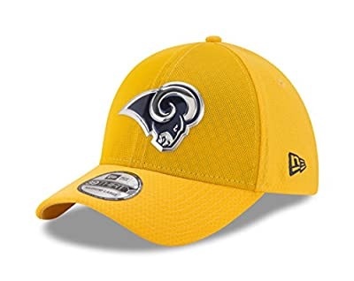 New Era 39Thirty Hat Los Angeles Rams NFL 2017 On Field Color Rush Official Flex Cap