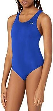 TYR Womens Durafast Elite Solid Maxfit Swimsuit