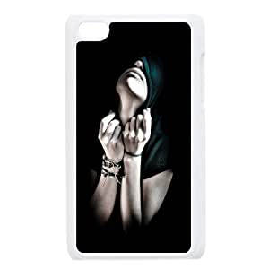 Ipod Touch 4 Sexy girl Phone Back Case Use Your Own Photo Art Print Design Hard Shell Protection HB069829