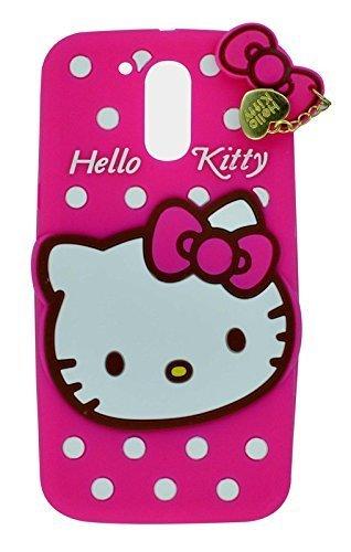 sale retailer 2486b f1033 Fonixa Hello Kitty Back Cover for Motorola Moto G4 Plus