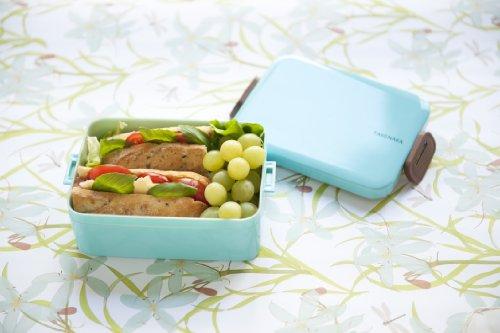 Takenaka 12-1204-33 Deep Bento Box, Light Blue