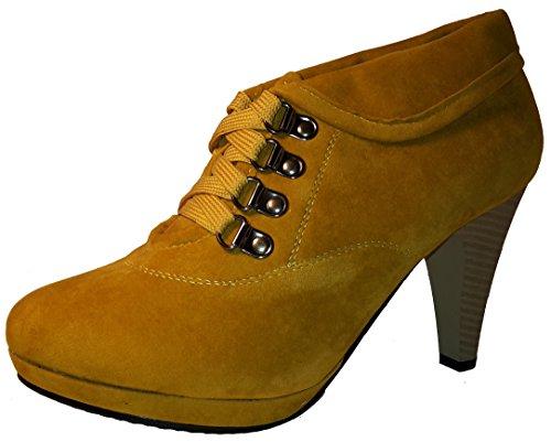 Stiletto Para Azul rojo Zapatos Mujer Alta O Emplearse Guantes Rosa Un De High Zapatos Mujer Pumps Marrón Corte Botas Heels Media Verde Sti203 Marrón Refinado 5FqPwH