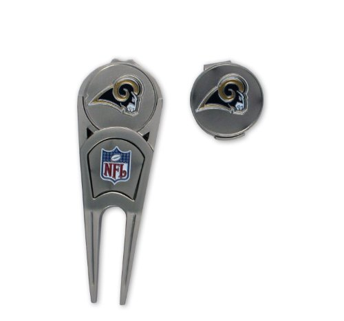 St Louis Rams Repair Tool and Ball Marker by McArthur Sports