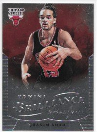 Joakim Noah 2012-13 NBA Panini Brilliance Chicago Bulls Card - 37 Chicago