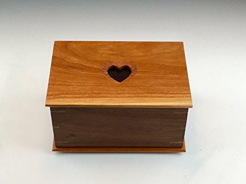 Pet Urn by Wild at Heart Wood, LLC