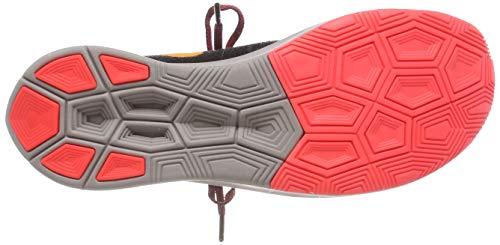 Nike Men's Zoom Fly Flyknit Black/Flash Crimson/Orange Peel Nylon Running Shoes 7.5 M US by Nike (Image #3)