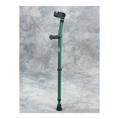 Forearm Crutch Youth - 1 Pair Forearm Crutch w/ Full Cuff - Epoxy-coated youth forearm crutches with 3 1/2