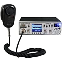 Ranger Professional PPR-TLM1 40 Channel AM Mobile CB Radio with TFT Display and SRA-198 Noise Cancelling Microphone