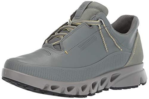 ECCO Women's Omni-Vent GORE-TEX waterproof Sneaker, moon, 37 M EU (6-6.5 US)