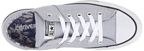 Converse Womens Madison Utility Chambray Low Top Sneaker Wolf Grey/White/Black PcLXhwjW