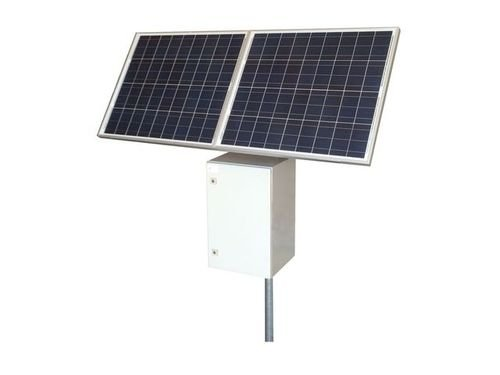 RemotePro 25W Cont Pwr Solar Sys, 160W Solar, 24V 50Ah 1200Wh Batt, 24V 8A PWM Sol Ctrl/Ld Ctrl 48V 30W Pasv PoE + 24V 1.5A Aux Out, 2-4