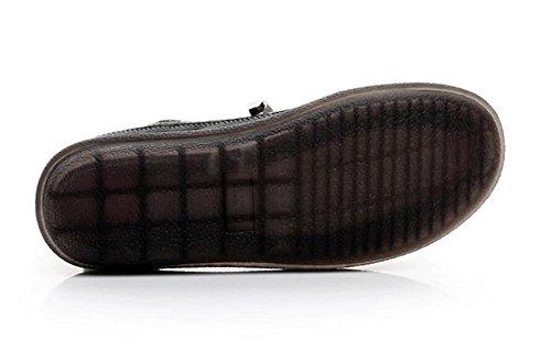 Laces Oxford da vera Suola Taglia da morbida pelle Scarpe 35To39 Scarpe ginnastica Black donna zXUqWI