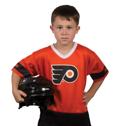 Franklin Sports NHL Philadelphia Flyers Youth Team Uniform (Philadelphia Flyers Halloween Costumes)