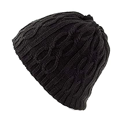 Aroglda Phase Mens Wool Velvet Knitted Hat Winter Thick Vintage Casual Ear Neck Warm Scarf Beanie Double Use