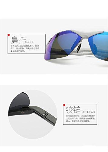 lentille bleue anti Miroir vent léger CHshop solaire ultra sable parasol T7xSq