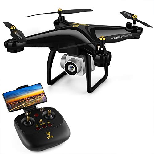 Price comparison product image JJRC GPS Drone RC FPV Drones with HD Camera for Adults Beginners 980ft Long Control Distances H68G Auto Return Home, Follow Me,  Altitude Hold