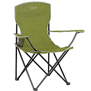 Lightweight Durable Compact Folding Camp Chair – Portable Chair with Cup Holder Perfect for Camping, Festivals, Garden…