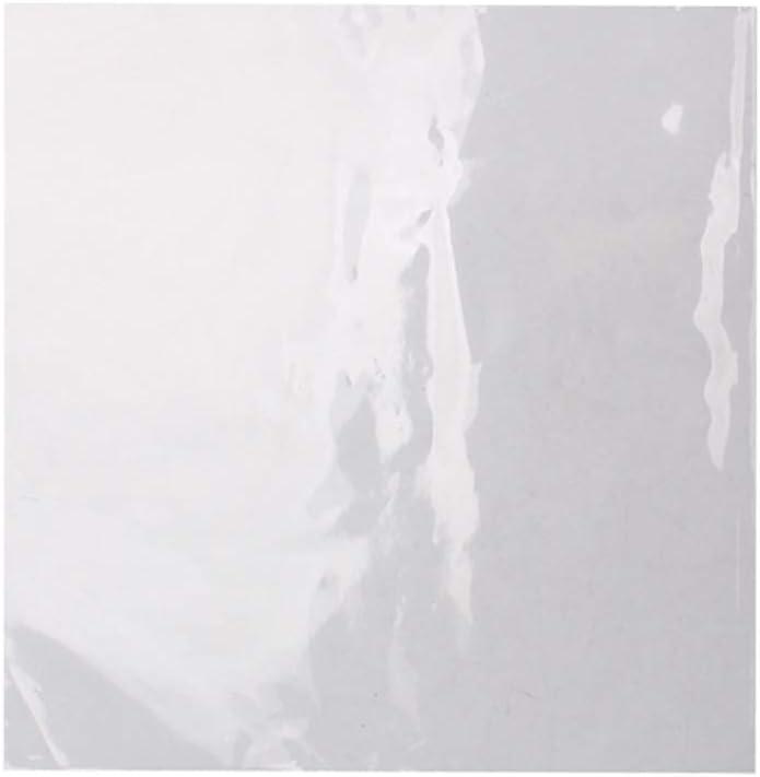 SUPVOX Recubrimiento de plástico externo mangas antiestático contenedor blanco para vinilo record lp recordplas 50pcs