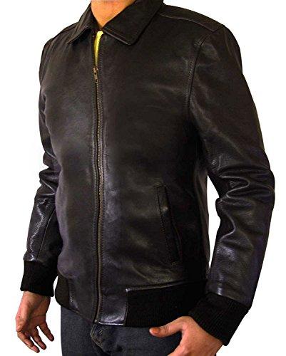 Happy Days Fonzie Leather Costume Jacket (S, Black)