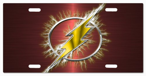 DC+Comics Products : The Flash DC Comics G5v15 Vanity License Plate
