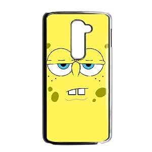 LG G2 Cell Phone Case Black Sponge Bob soxr