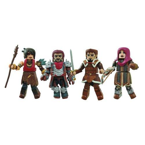 Diamond Select Toys Dragon Age Minimates Series 1 Box Set