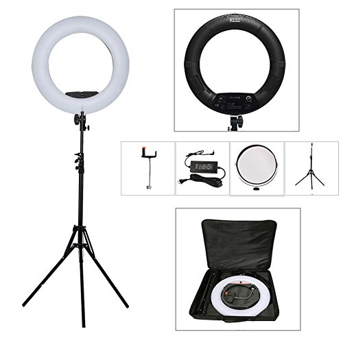 Yidoblo 18 Inch Led Ring Light Kit With Phonecamera Holdermakeup