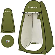 Brekmis Pop Up Privacy Tent – Portable Camping Tent Privacy Shelter for Shower Toilet Dressing Changing UV/Rai