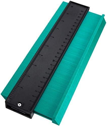SXYHKJ Medidor de Contornos para Suelo-10 pulgadas/250 mm Perfil de plástico Duplicador de medidor de contorno Herramienta de marcado de madera Azulejos laminados,Regla de Medición (125MM) (250MM): Amazon.es: Bricolaje y herramientas
