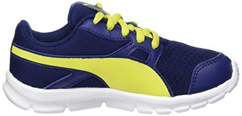 Puma Flexracer Ps, Zapatillas Unisex Niños Azul (Blue Depths-nrgy Yellow)