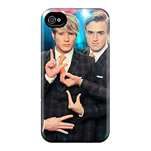 Anti-Scratch Hard Phone Cases For Iphone 4/4s (ZSg3846IwCI) Unique Design Stylish Mcfly Band Image
