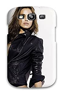 Perfect Irina Sheik In Leather Jacket Case Cover Skin For Galaxy S3 Phone Case