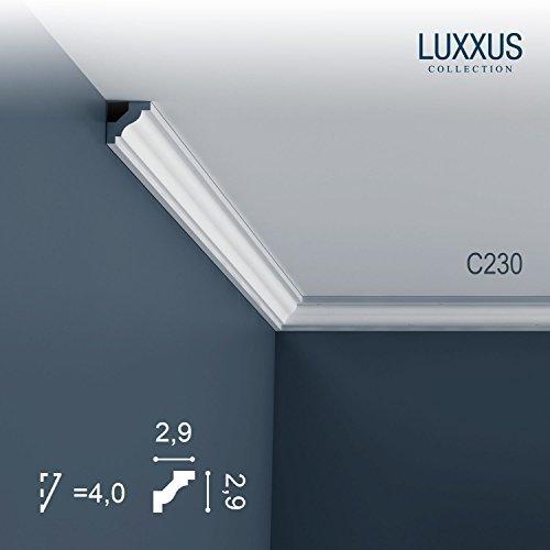 Orac Decor C230 LUXXUS ceiling coving decoration cornice moulding 2 m by Orac Decor