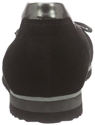 sohle Noir Black GaborGabor 17 Nero Donna Anth Ballerine Schwarz AfwxqH8