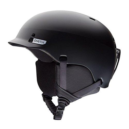 Jr Ski Snowboard - Smith Optics Gage Jr. Ski Snowmobile Helmet - Matte Black / Medium