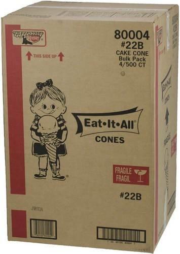 Keebler Eat It All 22B Junior Torch Cake Cone Bulk -- 2000 per ()