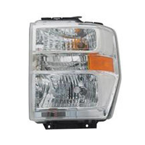 OE Replacement Headlight Combination Assembly FORD VAN FORD ECONOLINE 2008-2014 (Partslink FO2502249)