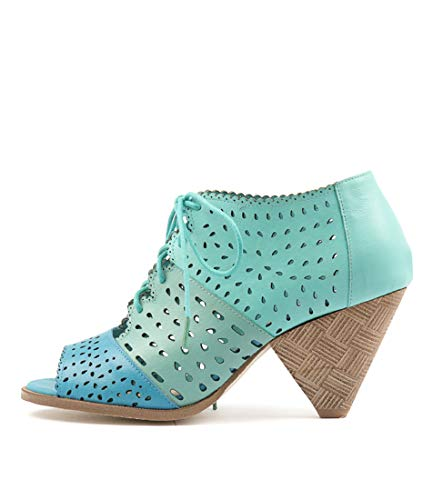 MINT F OCEANSH DJANGO SEA AQUA amp; Sandals Womens High Heels LEATHER Shoes JULIETTE PZ1nZ