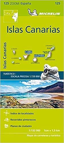 Mapa Zoom Islas Canarias (Mapas Zoom Michelin): Amazon.es: Vv.Aa ...