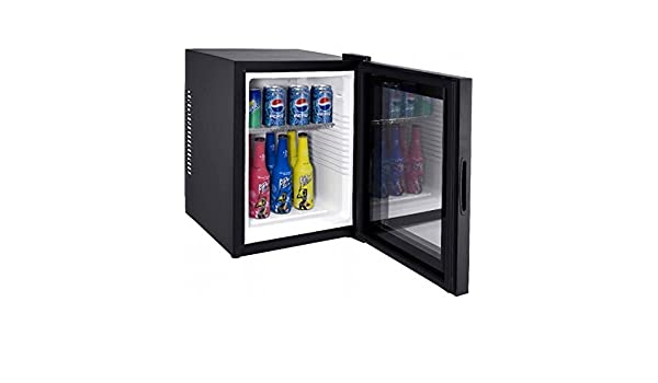 Syntrox Germany - 28 litros nulo DB de lautloser Mini frigorífico con puerta de cristal geräuchloser Hotel Frigorífico: Amazon.es: Grandes electrodomésticos