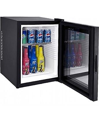 Syntrox Germany 28 Liter Null DB-lautloser Mini Kühlschrank mit ...