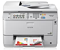 Epson WorkForce Pro WF-5690 Inkjet Multifunction Printer - Color - Plain Paper Print - Desktop C11CD14201
