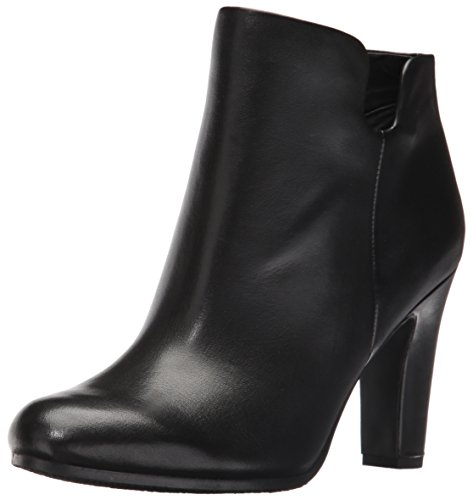 Sam Edelman Women's Shelby Ankle Bootie, Black Leather, 9...